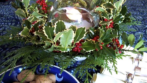 Floating Holly Wreath