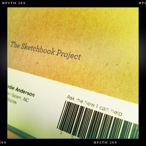 the sketchbook project