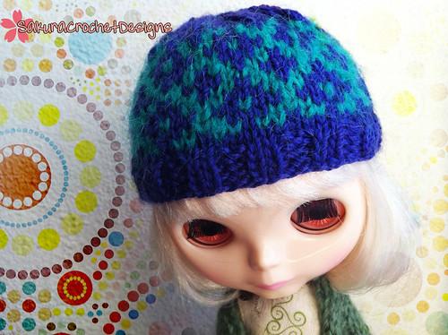 Apres ski hat for Blythe