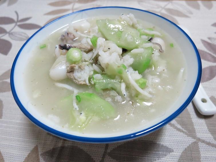 絲瓜海鮮魚粥