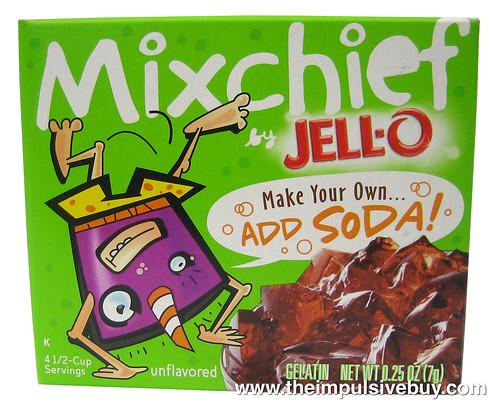 Jello Mixchief Make Your Own...Add Soda