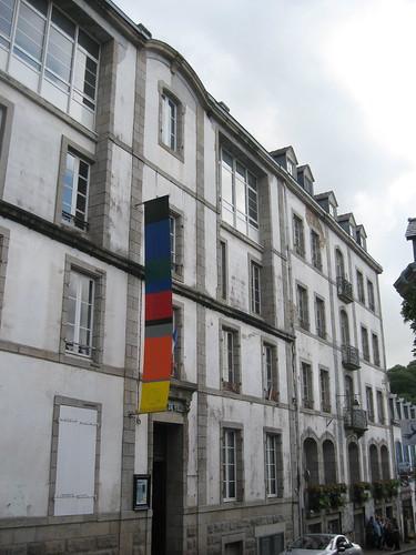 Verrieres façade actuelle de l'hotel de ville