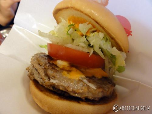 MOS burger and Pizza-La