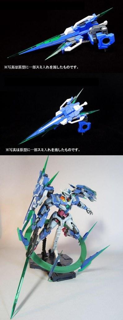 GN Sword IV Full Saber  Quan[T] 1100   BTF Colored Resin Kit  Unboxing