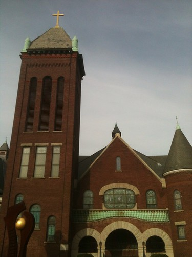 WEST MARKET UNITED METHODIST CHURCH by Greensboro NC