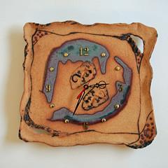 Cronulla Pottery. Clock