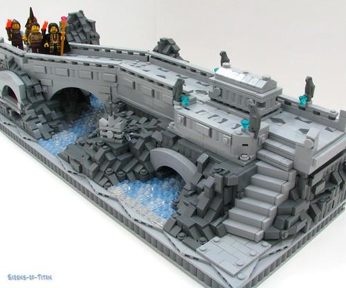 LEGO Castle tomb diorama