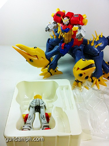 MSIA Devil Gundam First Form Unboxing Review Huge (56)