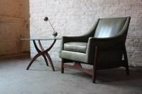 Sculptural Mid Century Modern Teak Lounge Chair (Paoli, 19 ...