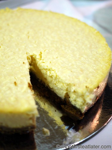 CNY 2012- Indulgence by Irene's queso de bola cheesecake-1