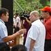 Sarangani Gov. Migs Dominguez and SMC's Ramon Ang