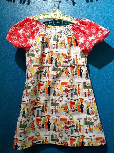 christmas shopping dress