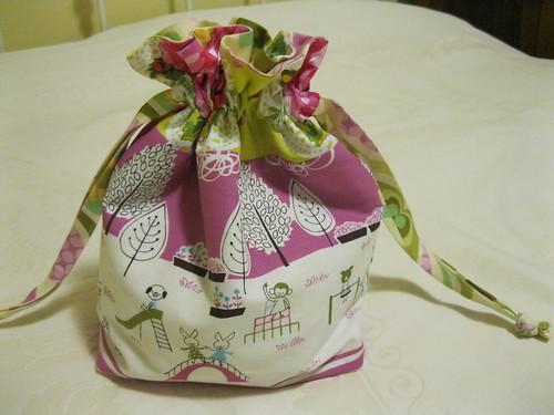 Christmas bag for Lily