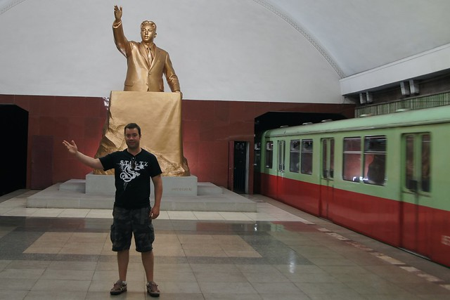 Jordan Harbinger on the Pyongyang Metro