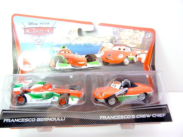 DISNEY CARS 2 KMART CREW CHIEF 2 PACK FRANCESCO'S CREW CHIEF (1)