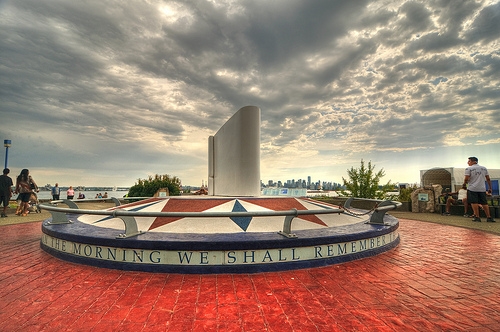 North Van Sailors' Memorial - by Bruce Irschick