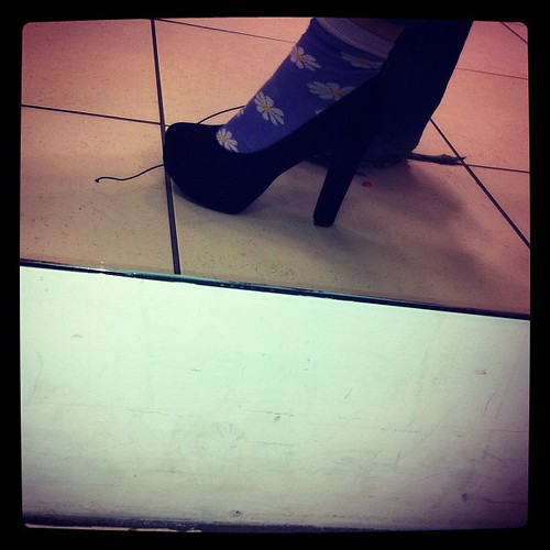 The fab/crazy shoes I tried on today.