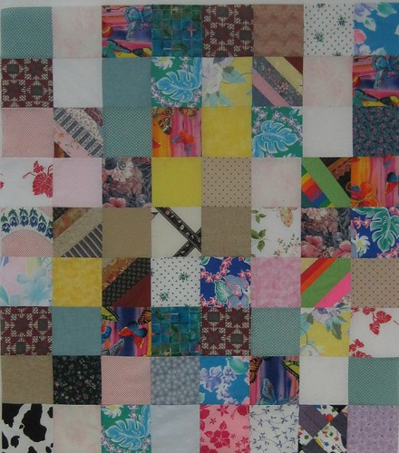 Quilt Tops Pieced at Linus Work Days Dec/Jan