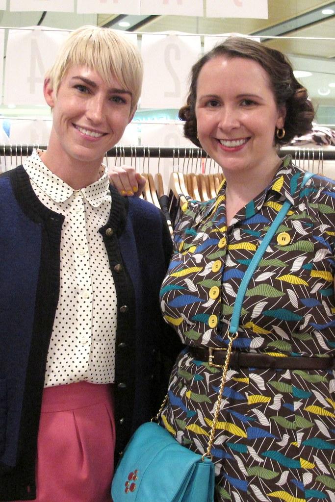 Santina and Kate @ the Madewell & Fabsugar Party