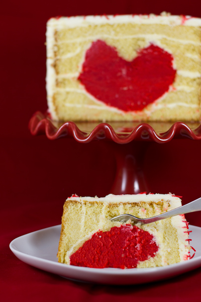 tarta puzle corazón