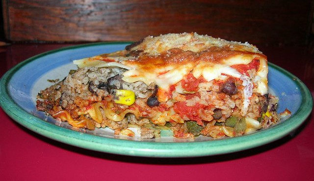 Black Bean Lasagna - the Potluck Version