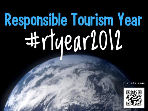 Attention responsible travel fans: For those who enjoyed #rtweek2012, the new hashtag for sharing: #rtyear2012