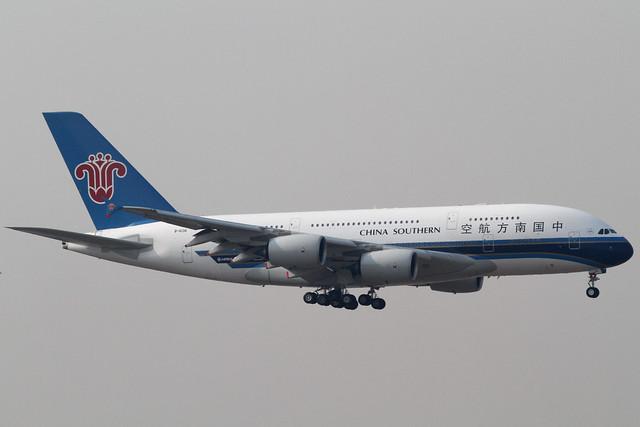 China Southern A380-800(B-6136)