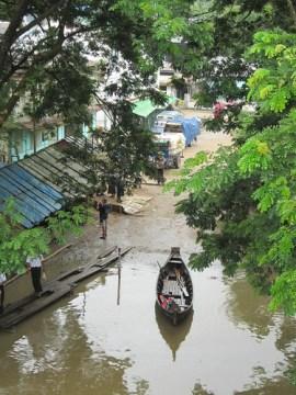 Myanmar river life