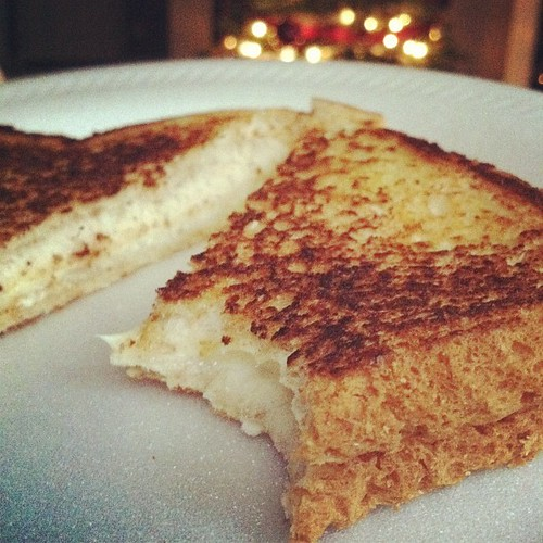 Swiss grilled cheese! Holy goodness!