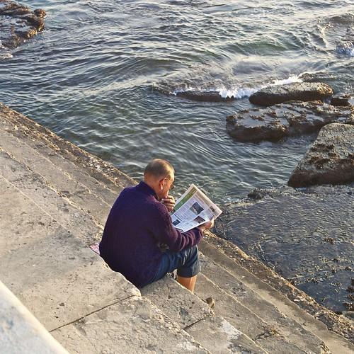 Sunny reading