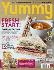 YUMMY Jan. 2012 Cover