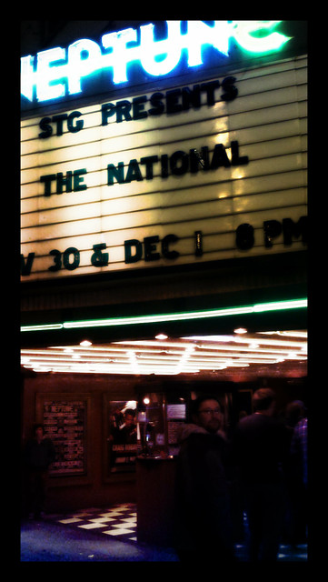 THE NATIONAL IN SEATTLE