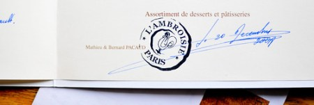 what else was on the menu 5: l'ambroisie (december, 2008)