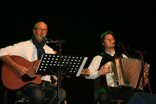 Ossi Huber mit Klaus Tschaitschmann