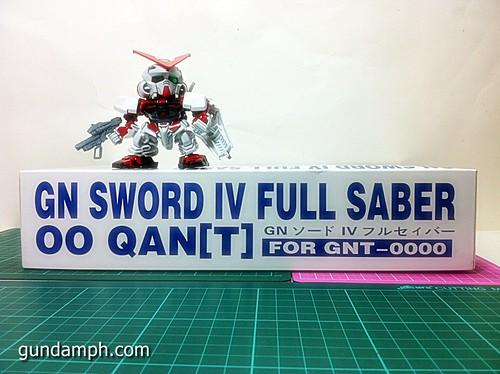 GN Sword 4 IV Full Saber QuanT 1-100 BTF Coversion Kit Unboxing (2)