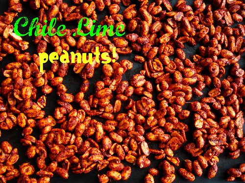Chile Lime Peanuts