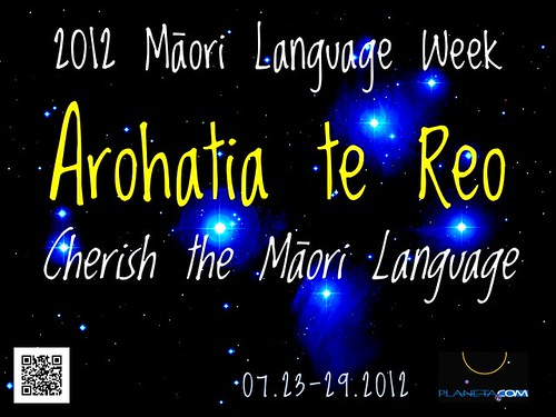 Dates are set for 2012 Maori Language Week: July 23-29