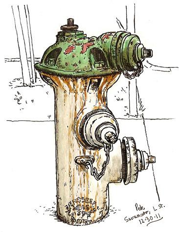 hydrant sacramento L st