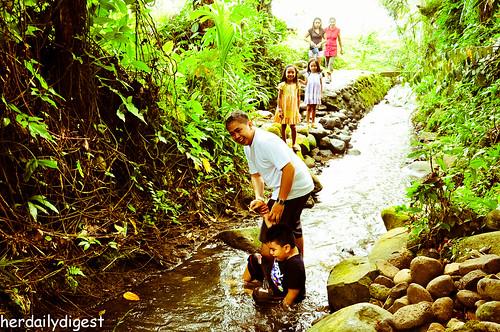 Trekking the creek