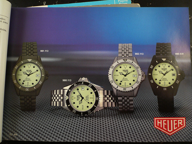 Heuer 981.113 in 1983 Catalogue
