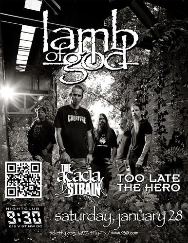 Lamb Of God at the 9:30 Club