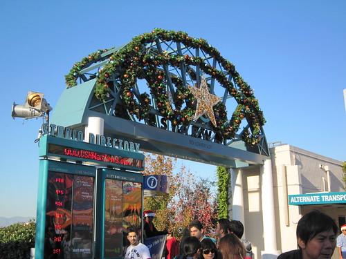 December 20, 2011 Park Update - Universal Studios Hollywood
