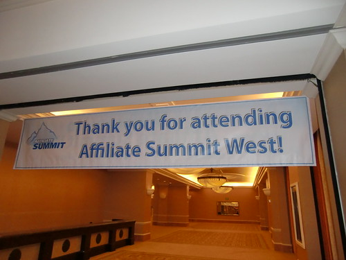 Thank you for coming to Affiliate Summit West 2012