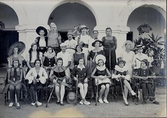 Jhansi hockey team fancy dress match 1935
