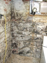 Best way to paint field-stone basement walls ...