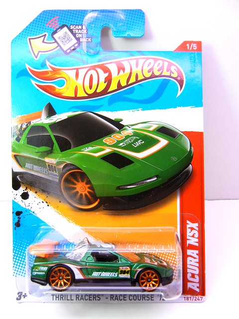 hot wheels acura nsx green (1)