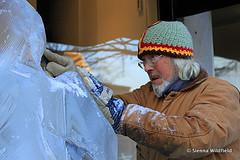 Ice Sculpture in Northampton