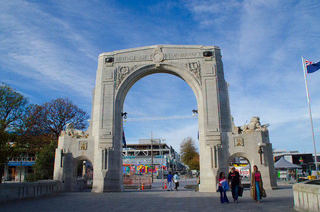 Bridge of Remembrance, Christchurch