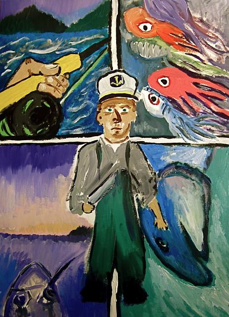 salmonslam2011 Painting