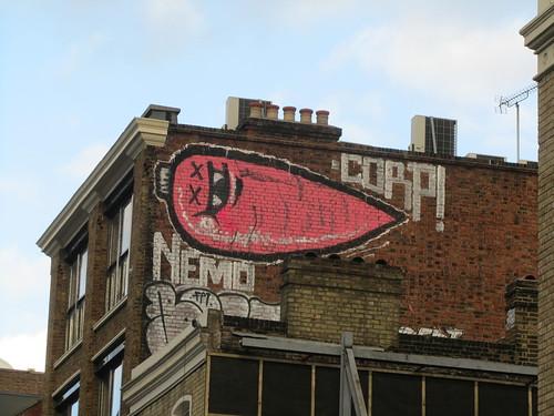 Street art near Old Street